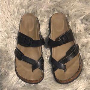 Madden Girl Black Sandals